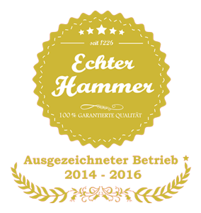 Echter Hammer - eine Aktion der Stadt Hamm.