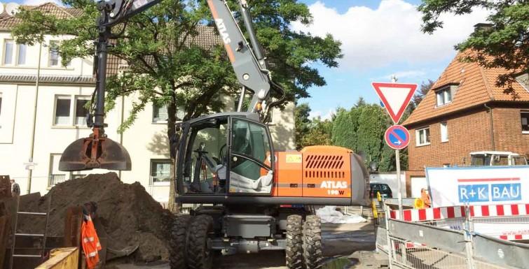 Neubau Schmutzwasserkanal – Bockumer Weg