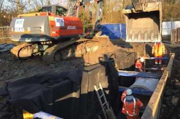 Umlegung MW Kanal, DN 900 – Kurpark Bad Sassendorf