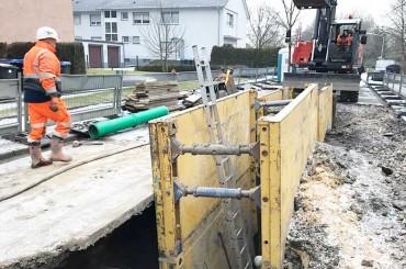 Kanalbau – Am Kobbenskamp, Hamm – Lippeverband
