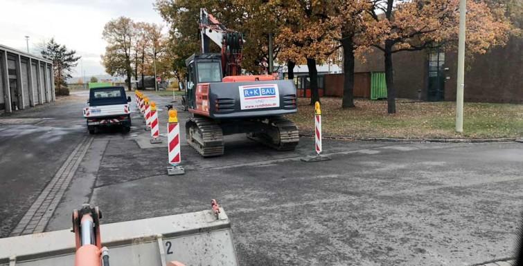 Erdarbeiten RWE Hamm Uentrop