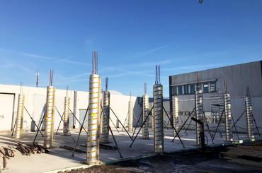 Hochbau // Toom Pflanzenlager Bottrop