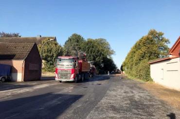 Straßenbau Fertigstellung // Unna Hemmerde